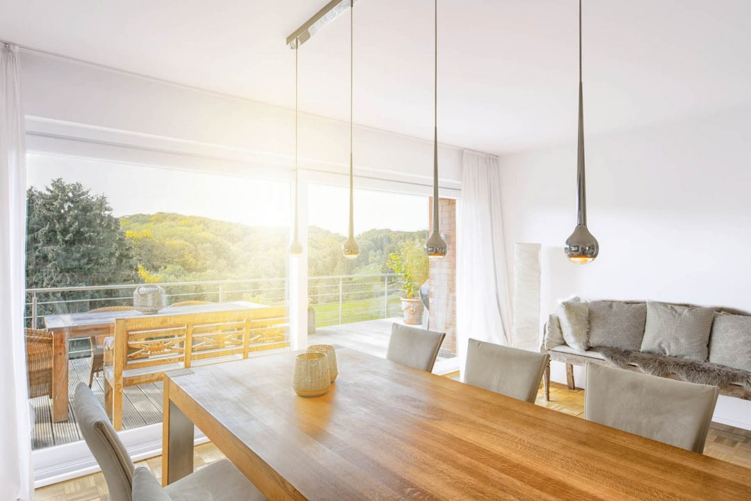 Modernisiertes Einfamilienhaus mit Aussicht