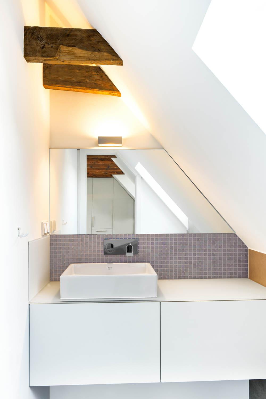 Minibad im Dachgeschoss