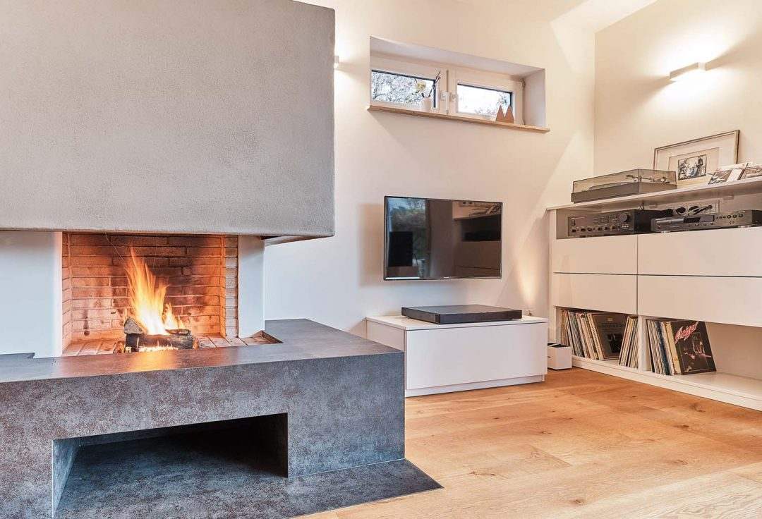 Modernisierung des Ergeschosses im Einfamilienhaus